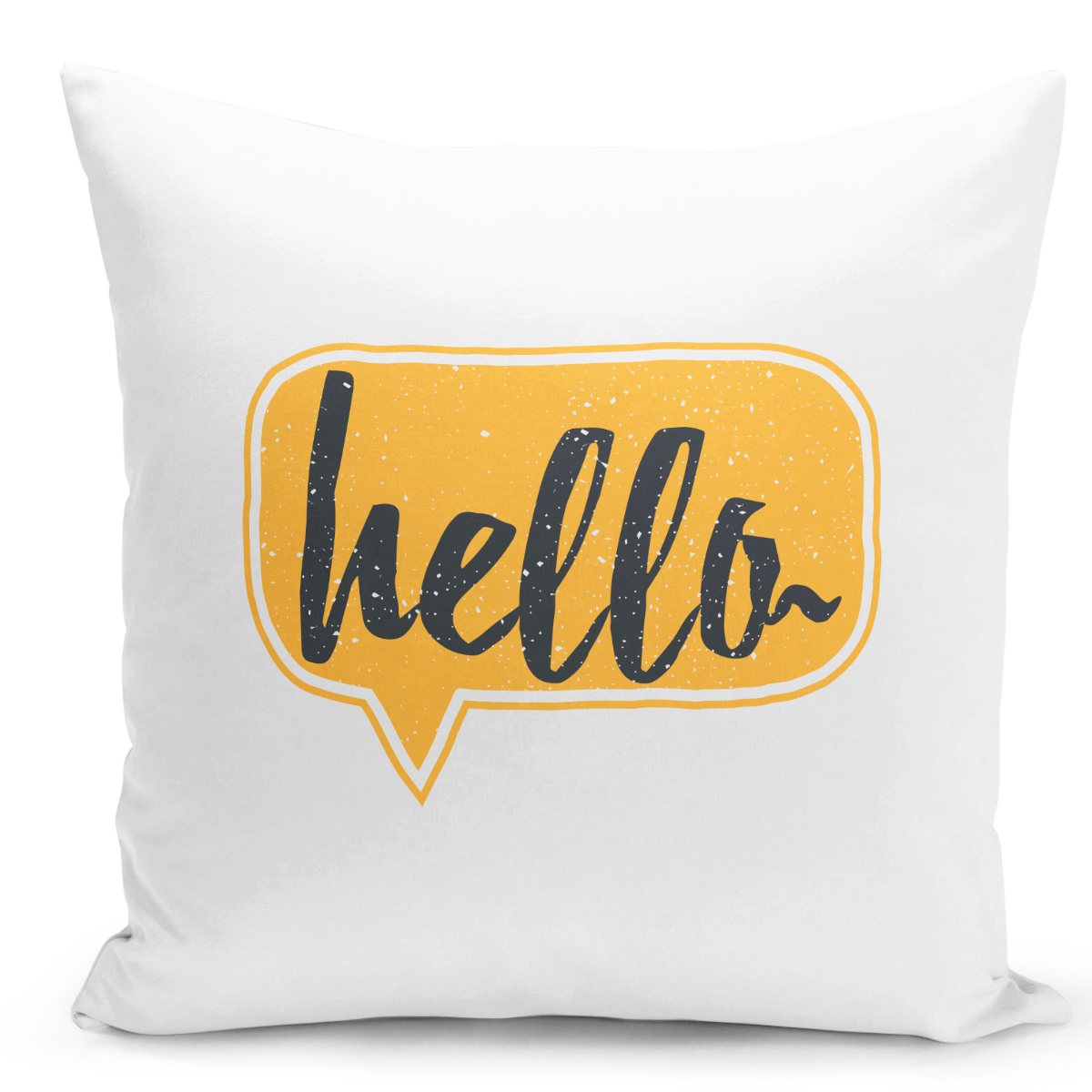 White-Throw-Pillow-Hello-Yellow-Pillow---Pure-White-Printed-16-x-16-inch-Square-Home-Decor-Couch-Pillow-