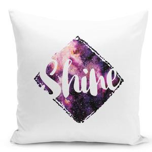 White-Throw-Pillow-Shine-Galaxy-And-Stars-Astronomy-Theme---Pure-White-Printed-16-x-16-inch-Square-Home-Decor-Couch-Pillow-