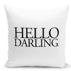 White-Throw-Pillow-Hello-Darling---Durable-White-16-x-16-inch-Square-Home-Office-Decor-Accent-Pillow-