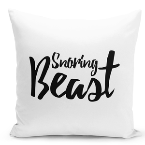 White-Throw-Pillow-Sleeping-Beast-White-Throw-Pillow-For-Boys-And-Mens---High-Quality-White-16-x-16-inch-Square-Home-Office-Decor-Accent-Pillow-