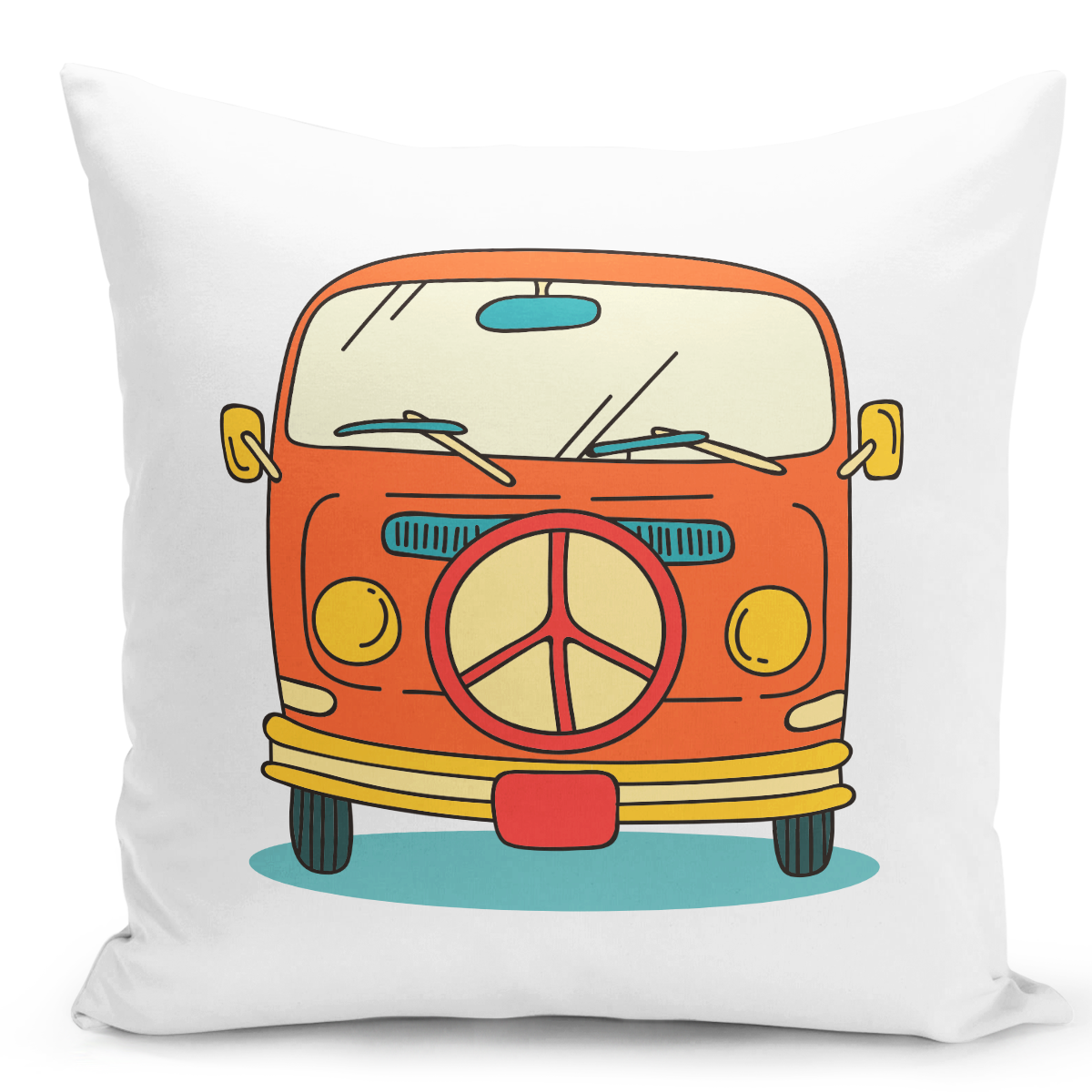 White-Throw-Pillow-Vintage-Van-camping-picnic-Rv-Pillow---High-Quality-White-16-x-16-inch-Square-Home-Office-Decor-Accent-Pillow-