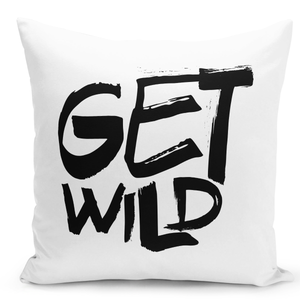 White-Throw-Pillow-Get-Wild-Pillow---Durable-White-Polyester-16-x-16-inch-Square-Modern-Home-Decor-Printed-Pillow-
