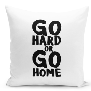 White-Throw-Pillow-Go-Hard-Or-Go-Home-Pillow---Durable-White-Polyester-16-x-16-inch-Square-Modern-Home-Decor-Printed-Pillow-