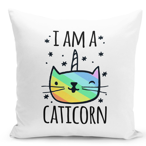 16x16-inch-Throw-Pillow-for-Home-Decor-with-Stuffing-i-Am-a-Caticorn-Unicorn-Rainbow-Colors-