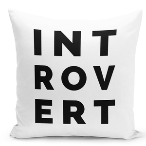 16x16-inch-Throw-Pillow-for-Home-Decor-with-Stuffing-Introvert-