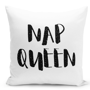 16x16-inch-Throw-Pillow-for-Home-Decor-with-Stuffing-Girly-Pillow-Nap-Queen-