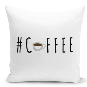 16x16-inch-Throw-Pillow-for-Home-Decor-with-Stuffing-Hashtag-Coffee-Break-