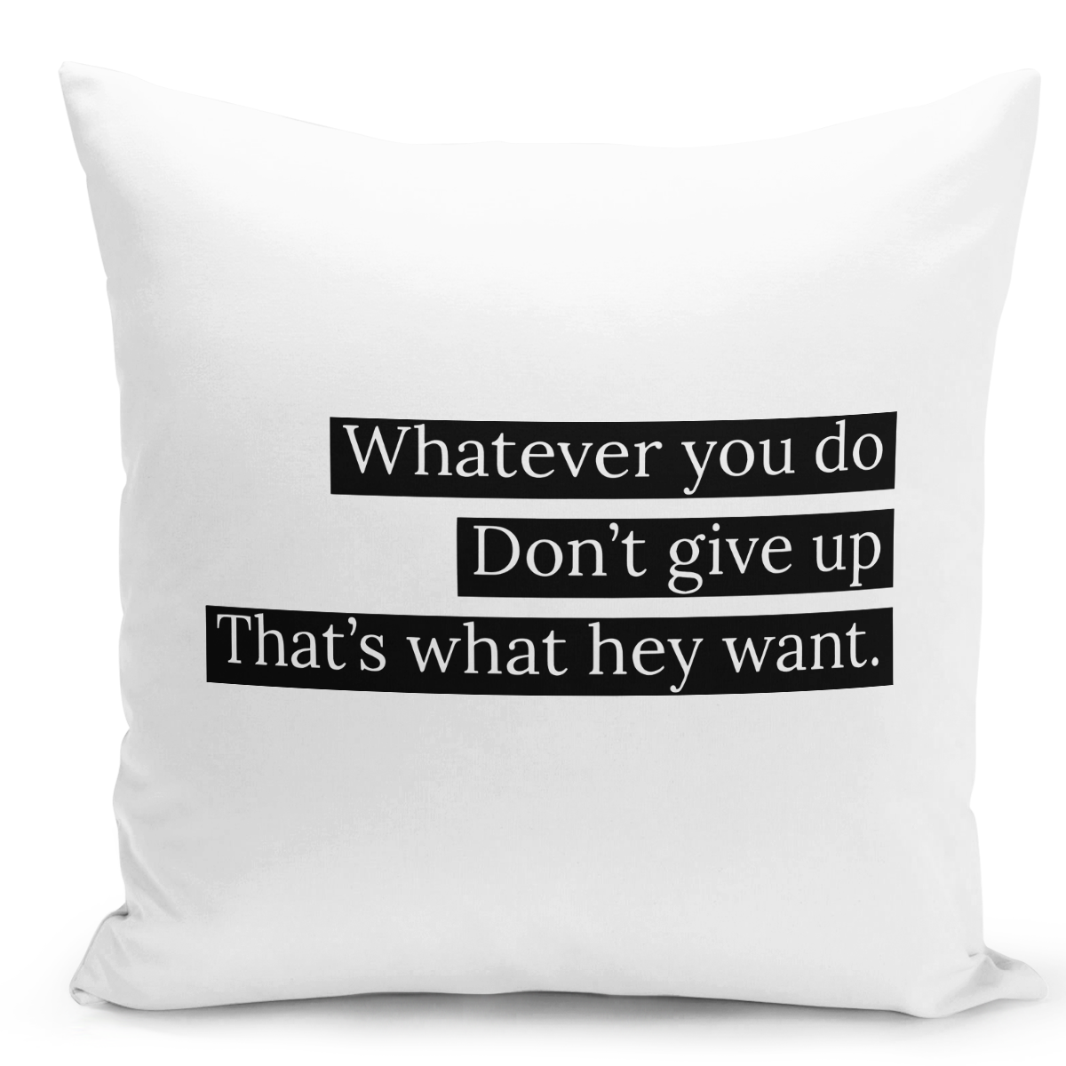 16x16-inch-Throw-Pillow-for-Home-Decor-with-Stuffing-Whatever-You-Do-Dont-Give-Up-Inspirational-Quote-Pillow-