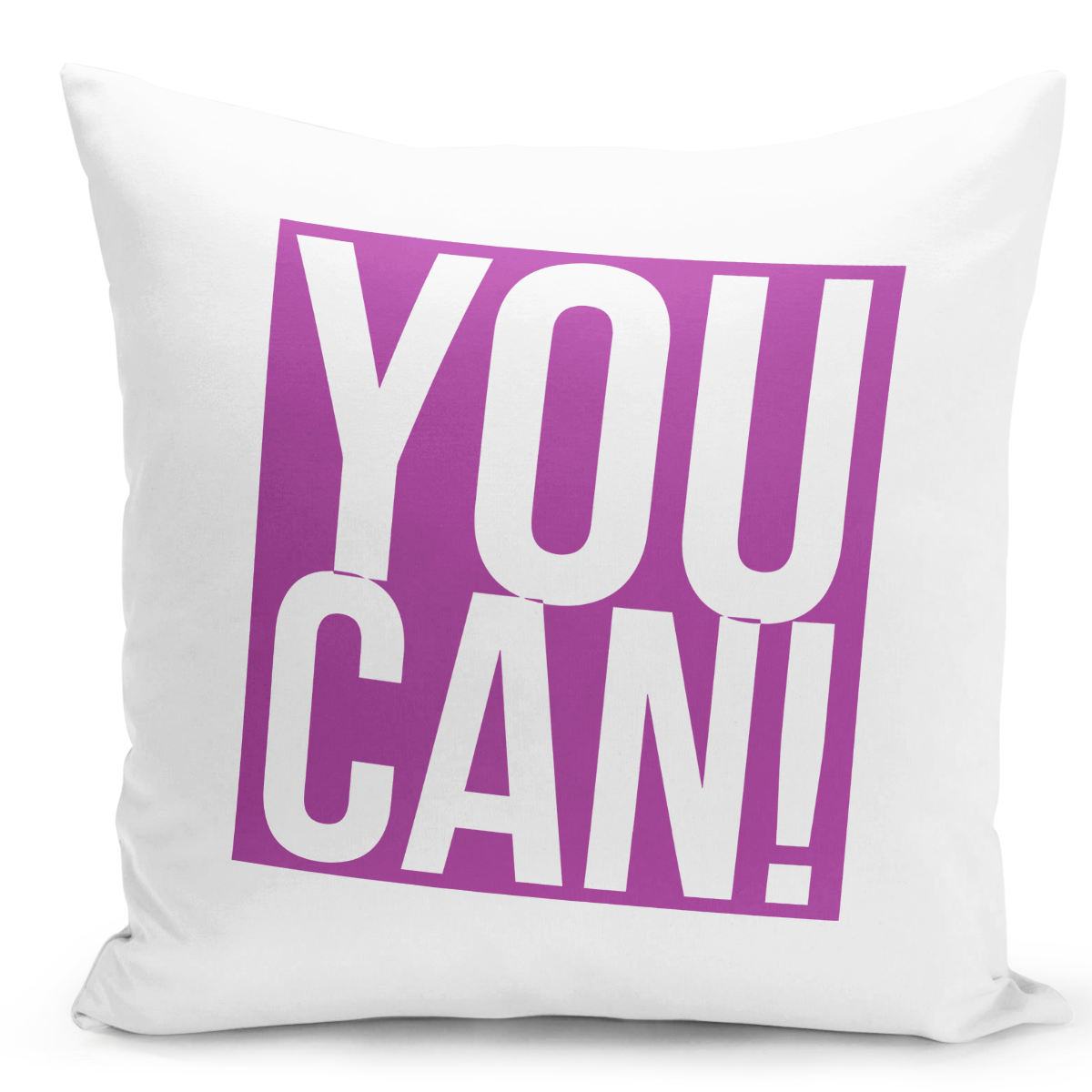 16x16-inch-Throw-Pillow-for-Home-Decor-with-Stuffing-You-Can-Self-Motivation-Pillow-