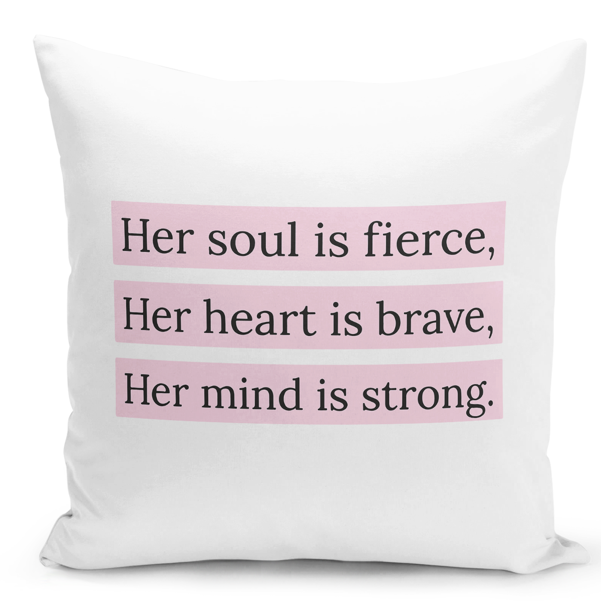 16x16-inch-Throw-Pillow-for-Home-Decor-with-Stuffing-Fierce-Brave-Strong-Heart-Girl-Quote-Women-Pillow-