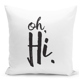 16x16-inch-Throw-Pillow-for-Home-Decor-with-Stuffing-Oh-Hi-Cheerful-Greeting-Pillow-