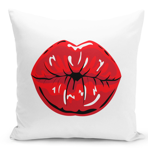16x16-inch-Throw-Pillow-for-Home-Decor-with-Stuffing-Kiss-Lips-Red-Lipstick-Women-Lips-