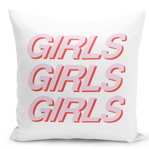 16x16-inch-Throw-Pillow-for-Home-Decor-with-Stuffing-Girls-Girls-Girls-Women-Power-Strength-Team-Female-Pillows-