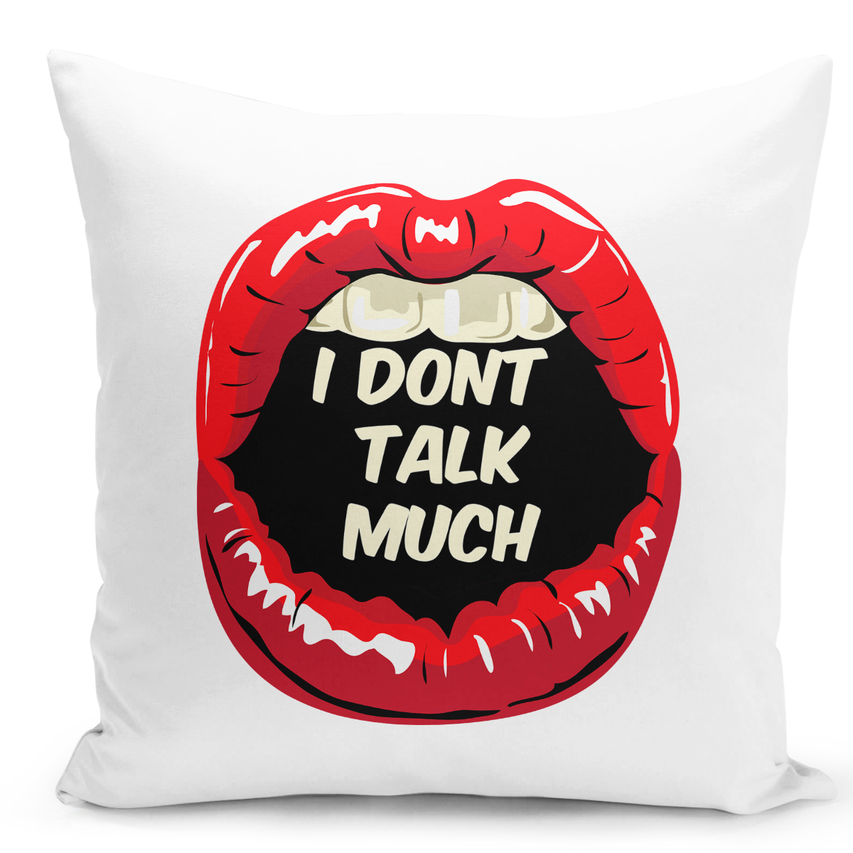 16x16-inch-Throw-Pillow-for-Home-Decor-with-Stuffing-i-Dont-Talk-Much-Red-Lipstick-Women-Pillow-