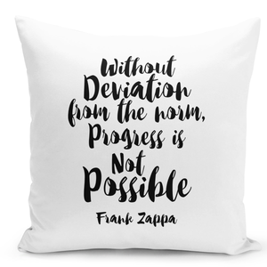 16x16-inch-Throw-Pillow-for-Home-Decor-with-Stuffing-Without-Daviation-Progress-Is-Impossible-Quote-Pillow-