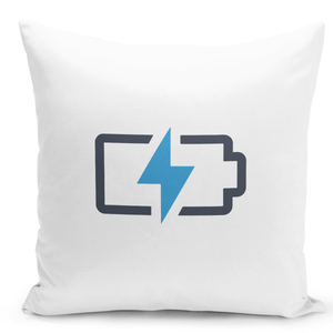 16x16-inch-Throw-Pillow-for-Home-Decor-with-Stuffing-Battering-Charging-Icon-Lightning-Bolt-Phone-Charge-Fun-Pillow-