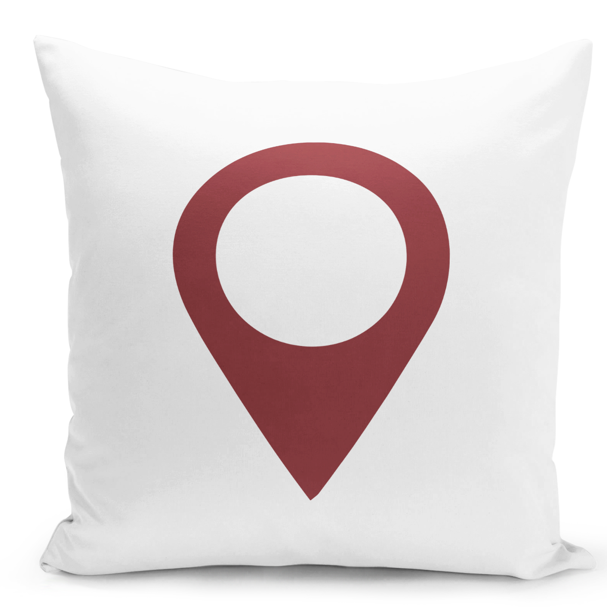 16x16-inch-Throw-Pillow-for-Home-Decor-with-Stuffing-Set-Location-Current-Location-Pin-Pillow-