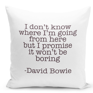 16x16-inch-Throw-Pillow-for-Home-Decor-with-Stuffing-David-Bowie-Quote-i-Dont-Know-Where-i-Am-Going-Boring-Fun-Pillow-