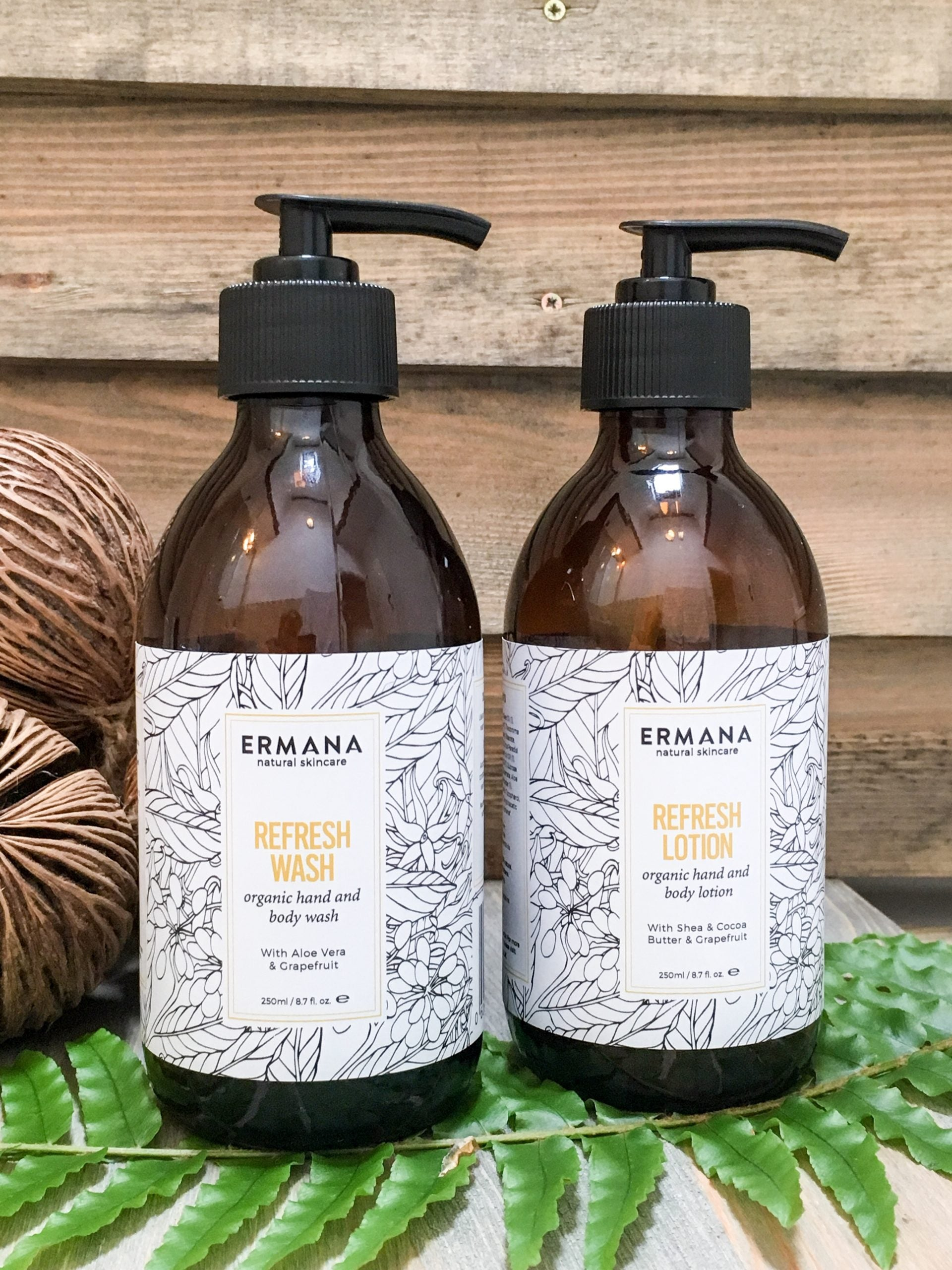 Refresh Organic Hand & Body Gift Set