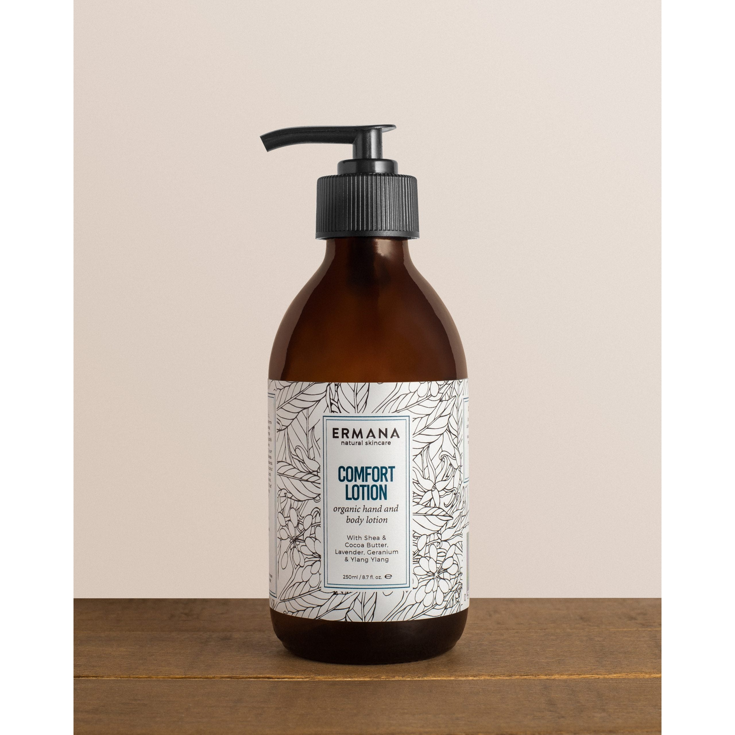 Comfort Organic Hand And Body Lotion 250ml