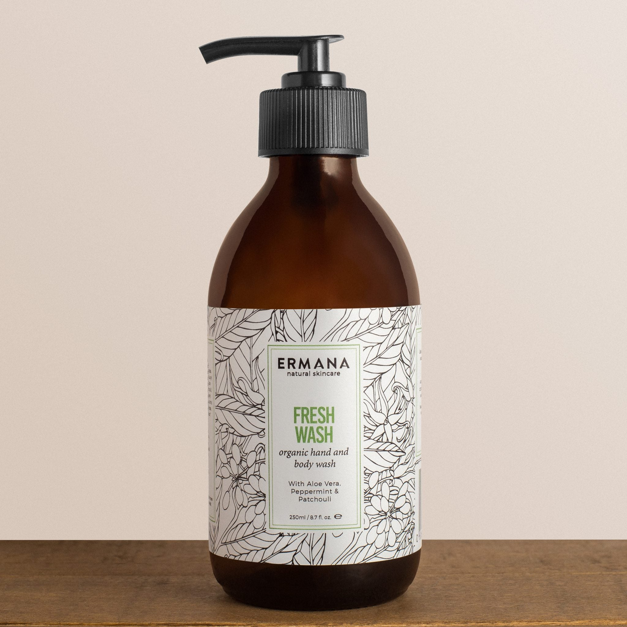 Fresh Organic Hand & Body Wash 250ml