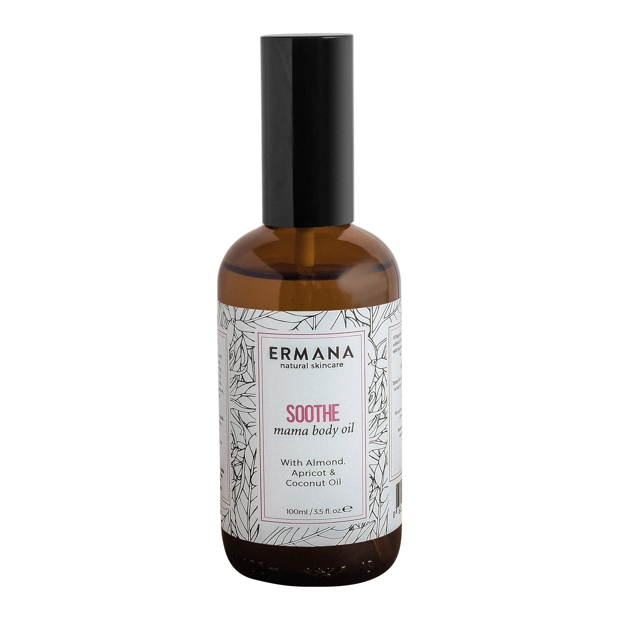 Ermana Soothe Body Oil Cutout