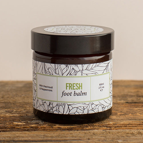 Fresh Foot Balm  With Peppermint And Patchouli 60ml