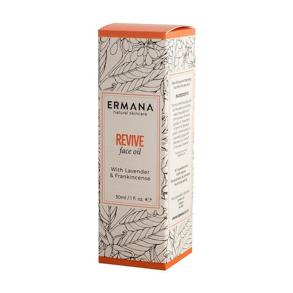 Revive Face Oil 30ml - Ermana Natural Skincare