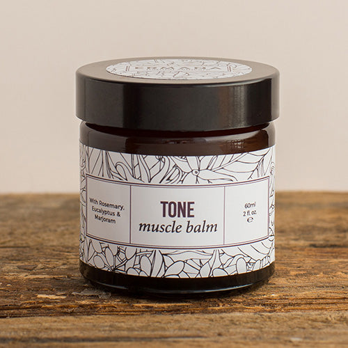 Tone Muscle Balm  With Rosemary, Eucalyptus And Marjoram  60ml