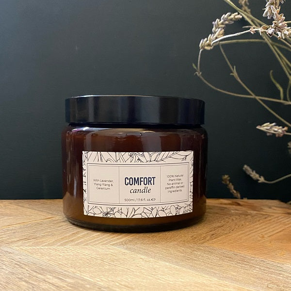 Comfort Triple Wick Candle 500ml