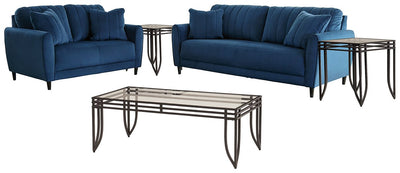 Enderlin Signature Design 5-Piece Living Room Package
