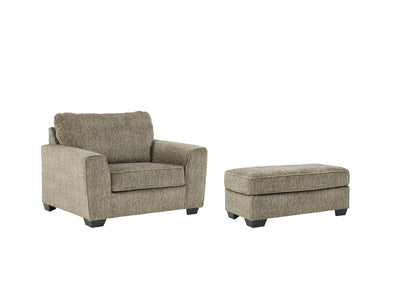 Olin Benchcraft 2-Piece Chair & Ottoman Set