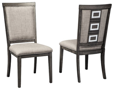 Chadoni Signature Design 2-Piece Dining Chair Package