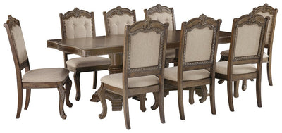 Charmond Signature Design 9-Piece Dining Room Package