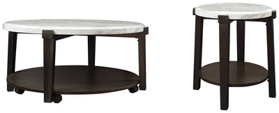 Janilly Signature Design 2-Piece Table Set