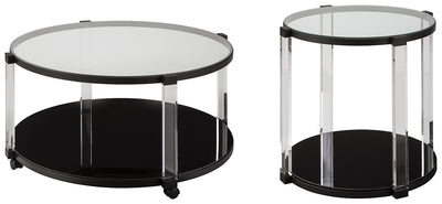 Delsiny Signature Design 2-Piece Table Set