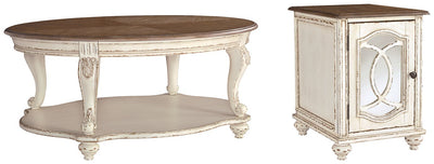 Realyn Signature Design 2-Piece Table Set