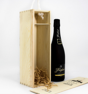 1 Bottle Personalised Loving Reindeers Wine Box