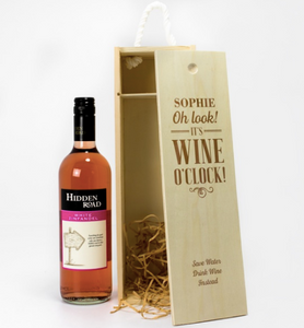 1 Bottle Personalised Wine Box