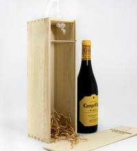 Carica l'immagine nel visualizzatore di Gallery, 1 Bottle Personalised Wine Box - Established
