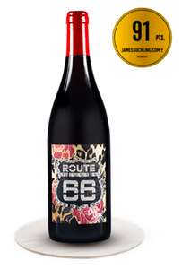 Personalised 3 Bottles Route66 Pinot Noir IGP Tony Moore's Signature Collection