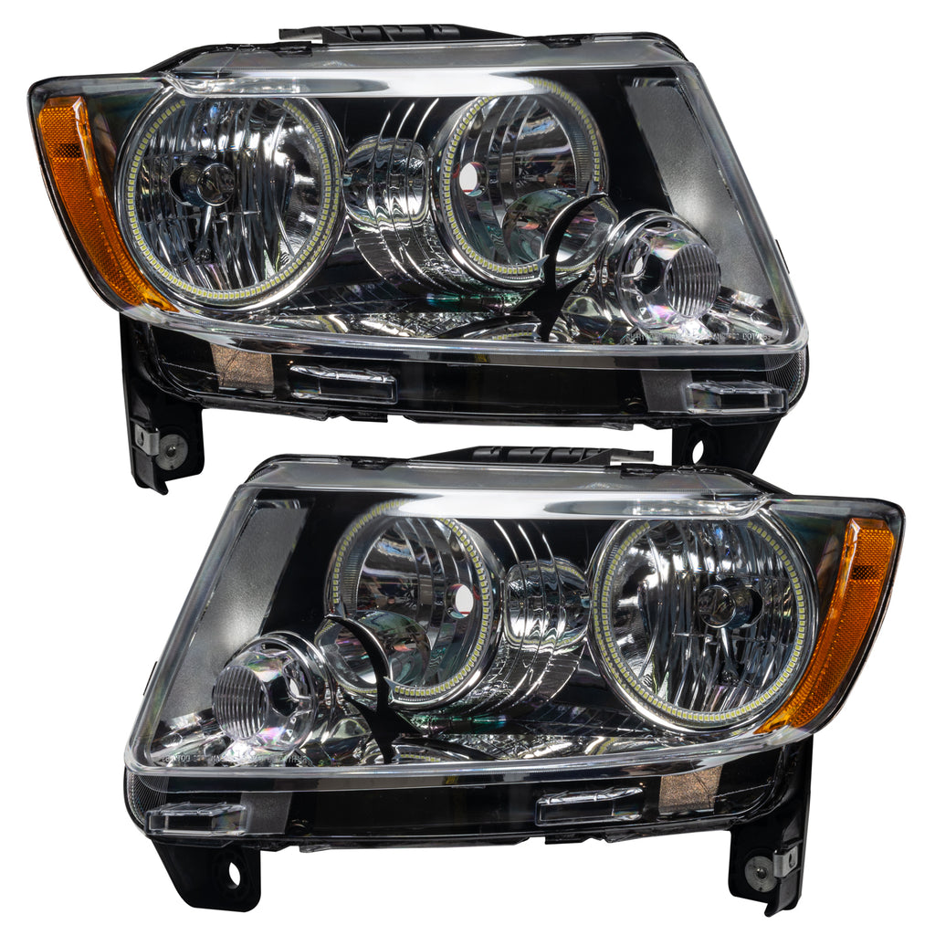 7070-004 - 2011-2013 Jeep Grand Cherokee SMD HL (Non-HID) - Chrome