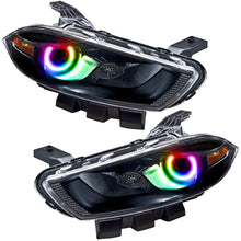 Load image into Gallery viewer, 7142-333 - 2013-2014 Dodge Dart (HID Style) SMD HL - Black