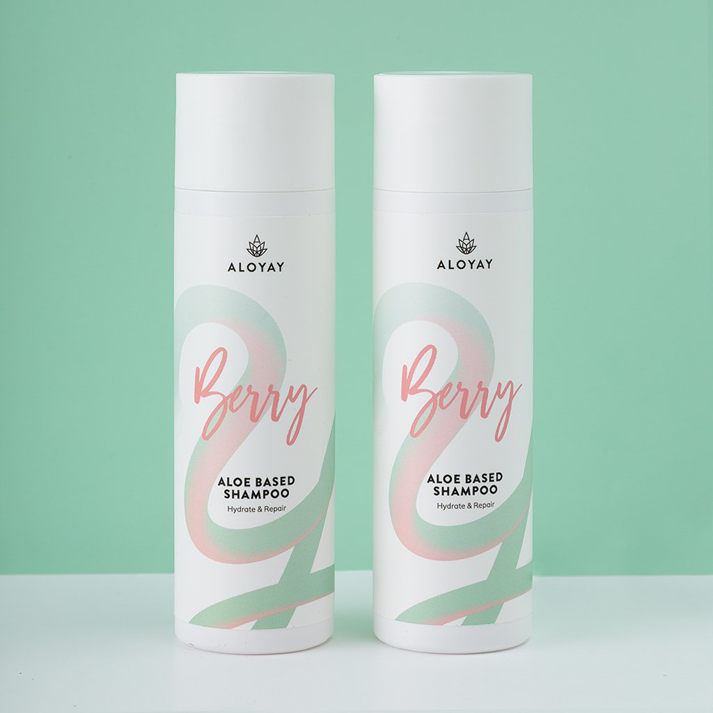 Aloe Based Berry Shampoo Set