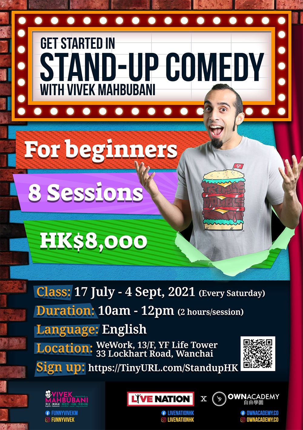Live Nation X OWN Academy: Stand Up Comedy