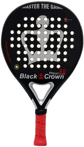 Black Crown Piton 6.0 Chrome Padel Racket