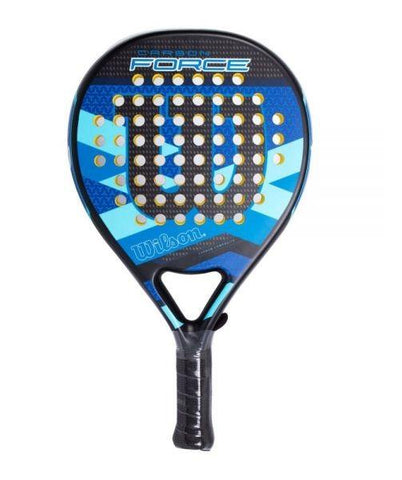 Wilson Carbon Force Azul Padel Racket