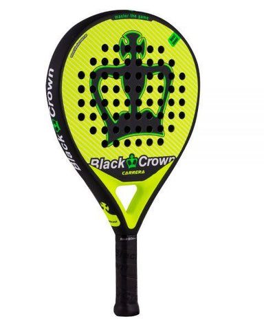 Black Crown Carrera Padel Racket