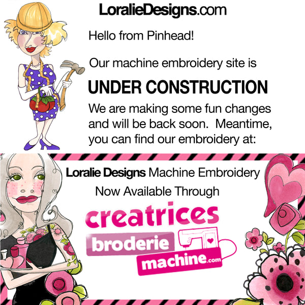 embroidery Machine Designs by Loralie