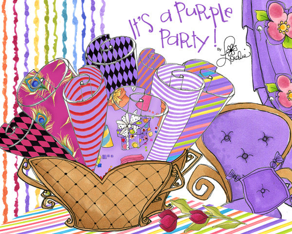 It's a Purple Party!